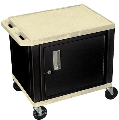 Tuffy Putty Utility Cart with Cabinet