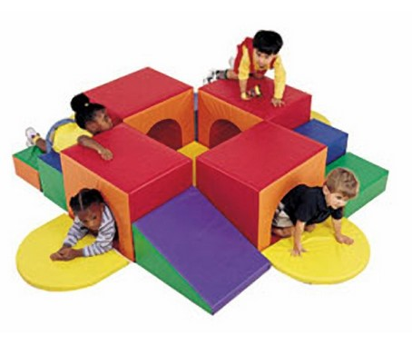 Tunnel Labyrinth Soft Play Climber