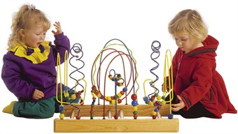 Tunnel Mountain Bead Maze Toy