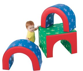Tunnel Trilogy Soft Play Shapes