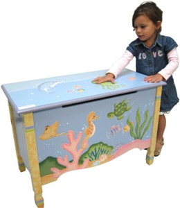 Under the Sea Toy Chest - Out of Stock