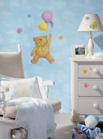 Up, Up and Away Peel & Stick Mural - Free Shipping