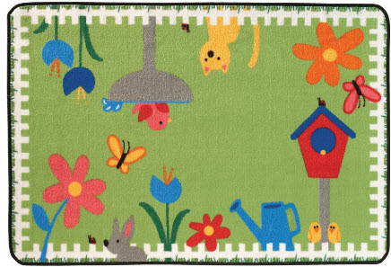 Value Line Garden Time Rug 3 X 4 6 Free Shipping At