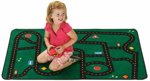 Value Line Go-Go Driving Rug Factory Second Rug 4' x 6'