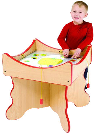 Veggie Face Play Table