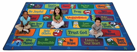 Veggie Values Seating Rug Factory Second 5'5 x 7'8