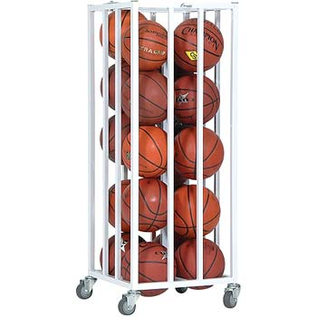 Champion Sports Vertical Ball Cage w/ Casters