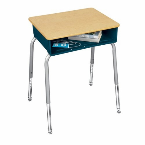 Virco Student Desk with Plastic Book Box