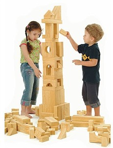 Weplay 152 Piece Softwood EVA Block Set
