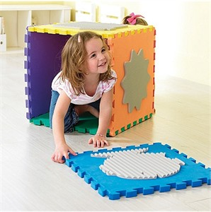 Weplay 6 Piece Tactile Playing Mat Set