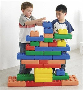 Weplay Giant Brick Me Plastic Building Blocks