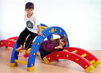 Weplay Go Go Balance 4 Piece Arch Toy