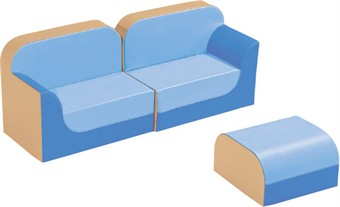 WESCO New Club Kids Soft Vinyl Furniture Set