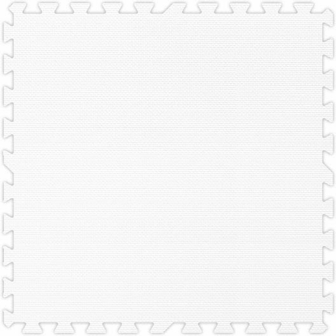 White Foam Premium Interlocking Squares - Free Shipping