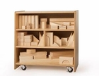 Whitney Brothers Medium Block Storage Cart