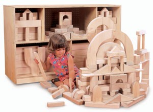 Whitney Brothers Beginner Wooden Block Set