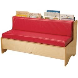 Whitney Brothers Comfy Reading Couch
