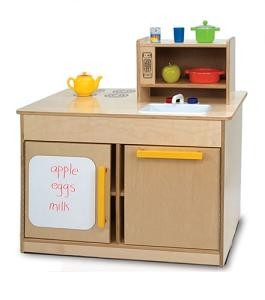 Whitney Brothers Preschool Furniture: Kitchen Island