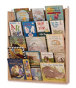 Whitney Brothers Wall Book Display Racks