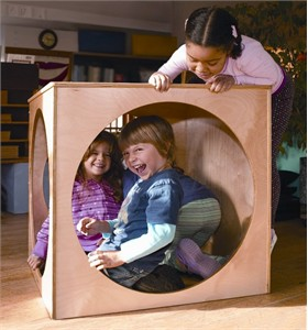 Whitney's Play House Cube