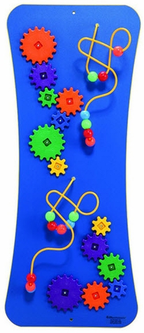 Wires, Beads & Gears Loco Motion Wall Panel Toy