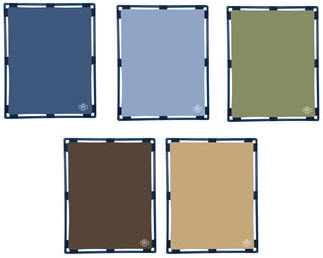 Woodland Colors Rectangle Play Panel - 5 Colors Choices