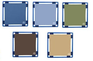 Woodland Colors Square Play Panel - 5 Colors Choices