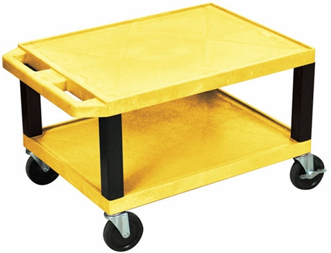 Yellow Tuffy Short Utility Cart