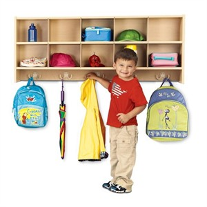 Young Time Furniture 10-Section Wall Locker