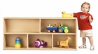 Young Time Furniture Toddler Two Shelf Storage