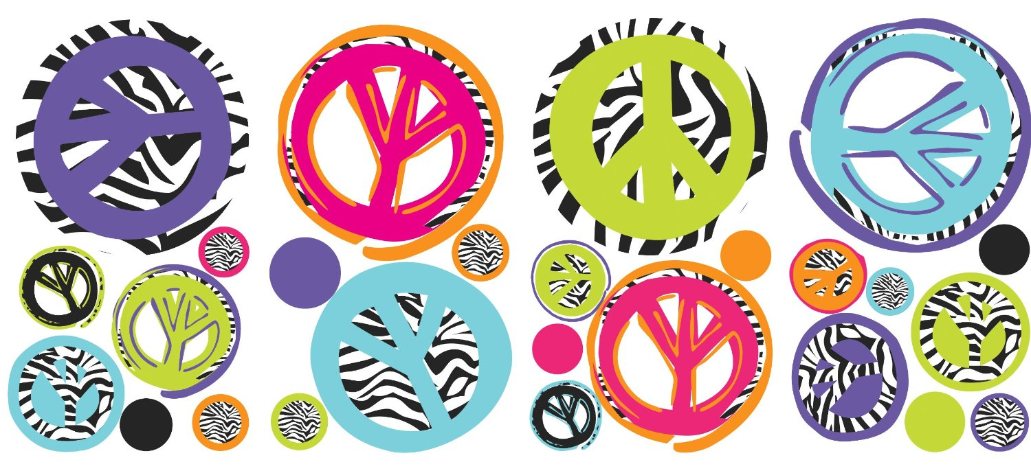 Simple and Attractive Free Printable Peace Sign Coloring Pages Peace sign pictures to print and color