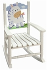 Zebra Theme Toddler Rocking Chair