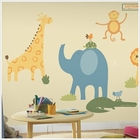 RoomMates Zoo Animals MegaPack Wall Decals
