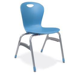 "Virco ZUMA 18"" 4-Leg Chair"
