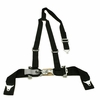 "Tiger 4 Pt ""Y"" Harness Seat Belts Sewn In 2x3 Black"