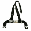 "Tiger 4 Pt ""Y"" Harness Seat Belts Sewn In 2x3 w/ Pads Black"
