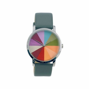 Color Wheel Watch: Grey