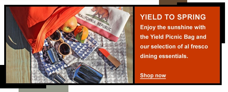 Yield Picnic Bag
