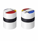 Ring Salt + Pepper Shakers