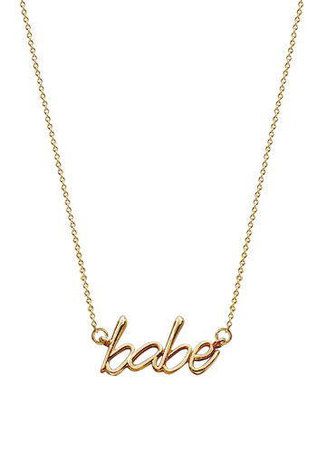 Kay Wicks - 14k Gold Babe Necklace