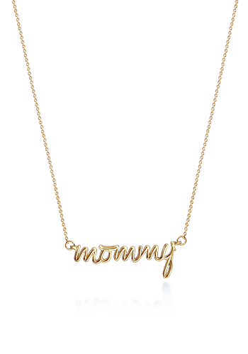 Kay Wicks - 14k Gold Mommy Necklace