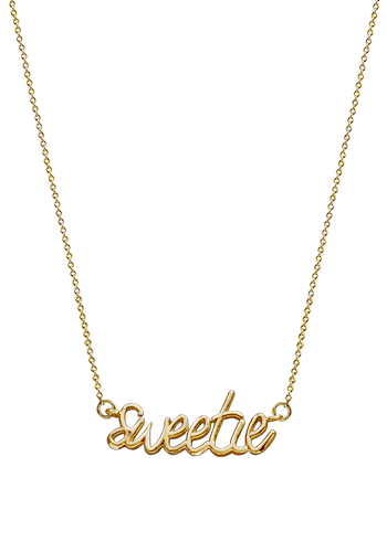 Kay Wicks - 14k Gold Sweetie Necklace