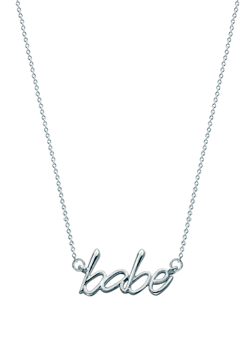 Kay Wicks - Sterling Silver Babe Necklace