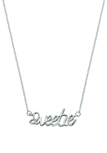 Kay Wicks - Sterling Silver Sweetie Necklace