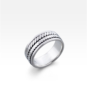 Men's Sterling Silver Kali Ring (Engravable)
