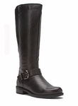 David Tate Women's Abby Extra Wide Calf Boot (Black)