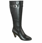 David Tate Women's Ava Super Wide Calf™ Boot (Black)