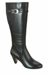 David Tate Women's Ava Super Wide Calf™ Boot (Black) - Final Sale
