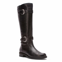 David Tate Women's Brandi Extra/Super Wide Calf� Boot (Black)