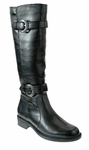 David Tate Women's Brandi Extra Wide Calf Boot (Black)